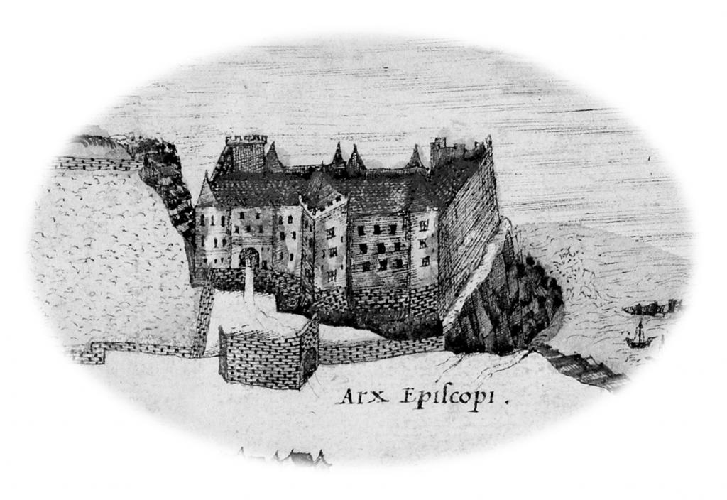 St Andrews Castle 1580