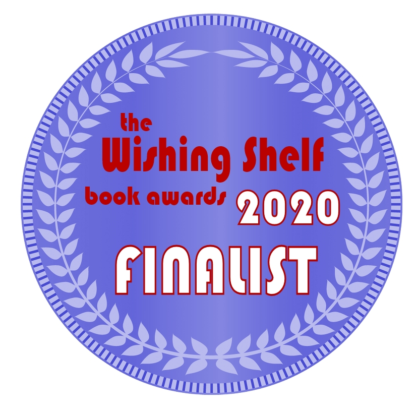 The Wishing Shelf 2020 Finalist Medal